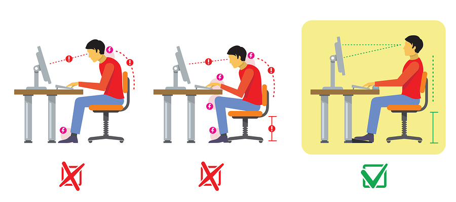 3 Ways To Avoid Back Pain When Sitting At Your Desk