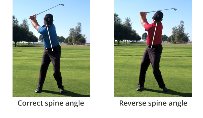 back pain playing golf